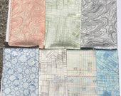 Architextures 7 piece set Carolyn Friedlander Robert Kaufman fabric Oop Htf