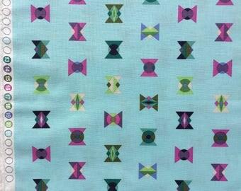 Acacia Arrowheads sky Tula Pink fabric FQ or more OOP HTF