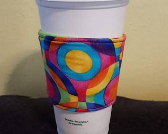 Colorful Circles Coffee/Tea Cozy