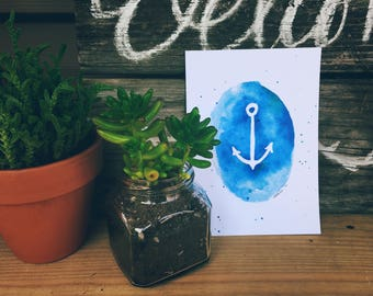 Anchor Printable Art Print 8x10