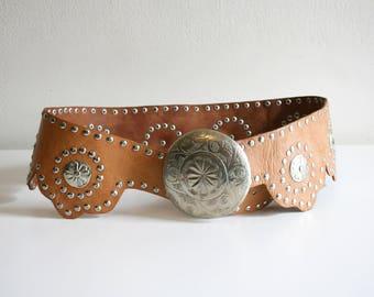 Moroccan Oversized Studded Belt