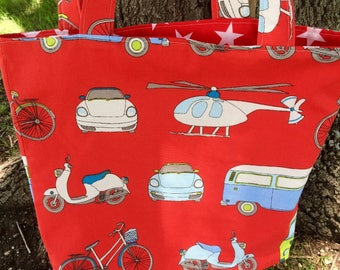 Large Bag, VW , Bicycle, Shopping Bag
