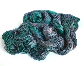 Sea Nymph Silk/SeaCell Yarn. Yesterday's Dreams.