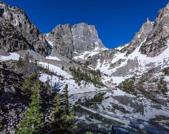 Emerald Lake, Rocky Mountain National Park photography