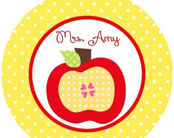 SALE : CHRISTMAS IN July Back to School Apple for the teacher iron on