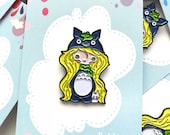 My Neighbor Totoro cosplay, Limited Edition enamel pin, Totoro pin, lapel pin, party supplies, party favors