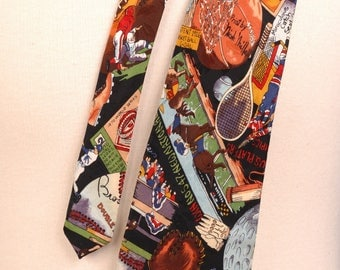 Nicole Miller, Significant Moments in Sports Silk Tie