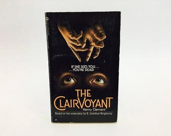 Vintage Horror Book The Clairvoyant by Henry Clement Film Novelization 1984 Paperback