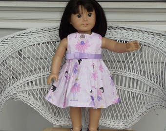 Dancing Ballerina Doll Dress Handmade to Fit  American Girl and  Other18 Inch Dolls