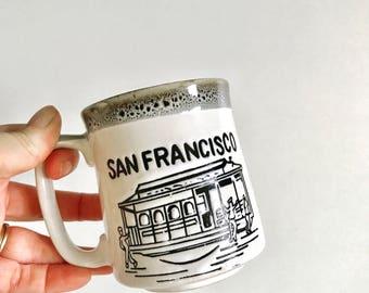 Vintage San Francisco Coffee Mug