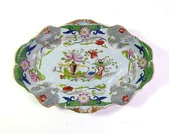 Antique English Dish by Masons c.1813-20