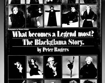 The BLACKGLAMA STORY - What Becomes A Legend Most, First Edition, Dust Jacket 1979