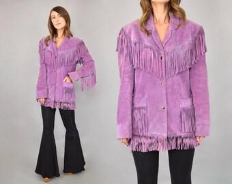 70's Lavender Western Jacket