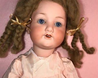 "Armand Marseilles 390 German Bisque Head Doll, 16"""