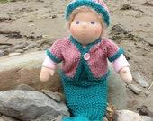 Waldorf mermaid doll