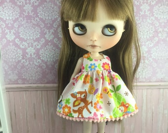 Blythe Dress - Kawaii Animals