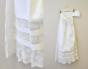 1900s Petticoat/Slip with Lace Hem