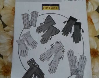 Sewing Pattern Butterick 4370 Adult one size, Pattern for Gloves