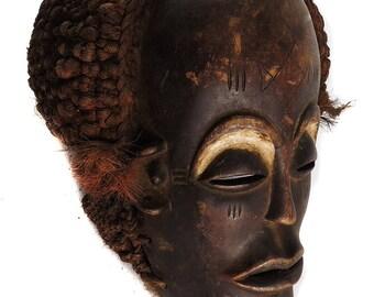 Chokwe Mask Mwana Pwo Congo Angola African Art 100125