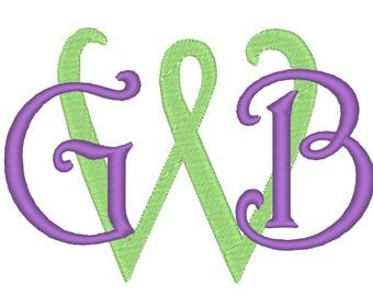 Monogram STENCIL Letters, Monogram Initials, circle monogram font assorted sizes Monogram Font Classic Font Circle 3 Embroidery wedding 4x4