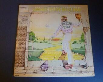 Elton John Goodbye Yellow Brick Road Vinyl Record LP MCA2-10003 MCA 1973