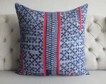 "26""By26, Vintage Batik Fabric,  Cushion covers, Handwoven Hemp Fabric, Cushions and pillows,"