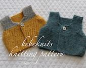 Bebeknits Bambino Body Warmer/Baby Vest Knitting Pattern