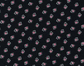 Sophisticates Black Geometric cotton quilting fabric - 120-12961 - by Ro Gregg for Paintbrush Studio Fabri-Quilt