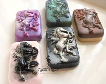 STALLION SOAP SET, Set of 2, Horse Soaps, Equine Soaps, Animal Soaps, Horse Lover Soaps
