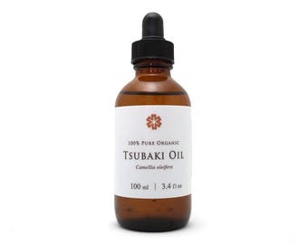 100% organic Camellia seed oil 100ml