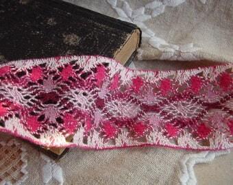 2.50 Yards = 2.23 Meters Adorable cotton crochet lace trim