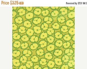 ON SALE CLEARANCE!  Lol, Moda Fabric, Me and My Sister Designs, Green, 1/2 Yard