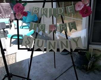 Gently Used - Bridal Shower Decorations