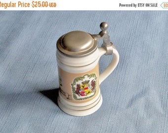 Vintage Beer Stein Souvenir Miniature German Bar Decoration Home Decor Birthday Christmas Gift Idea