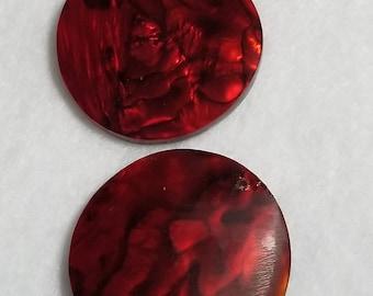 Round Red Pendant