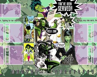 She-Hulk Dice Masters Play Mat