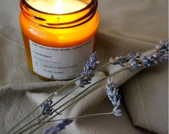 Lavender %100 natural Soy Candles
