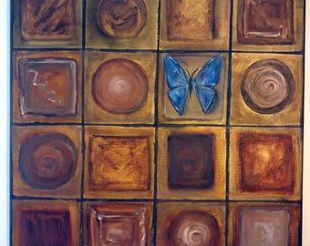 Abstract Still Life Original Painting
