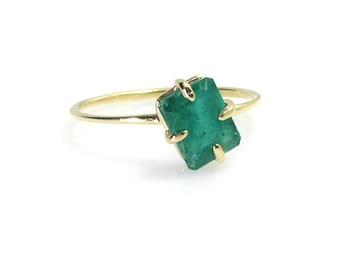 Emerald Ring .