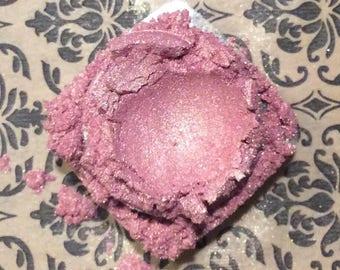 SEA SHELL Eye Shadow Organic Minerals Light Pink Fuchsia  Shimmer Vegan All Natural Pure Gluten Cruelty Free, Pigments, Lips, Nails