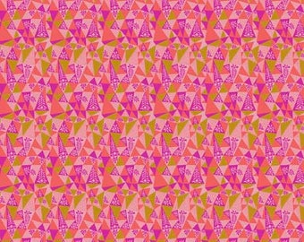 Fabric by the Yard -Sweet Dreams by Anna Maria Horner -- Garden Prism in Candy
