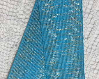 ELASTIC FANCY RIBBON - Turquoise