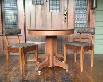 Small Vintage Dining Table and 2 chairs- LA pick up ONLY