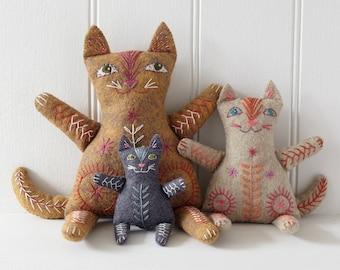 Cat Family Toy making kit