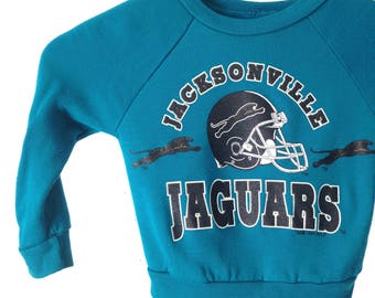 vintage 90s JACKSONVILLE JAUGARS football kids toddler sweatshirt children's vintage top