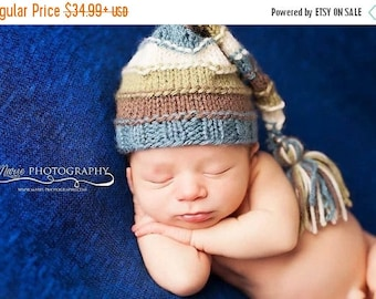 newborn, hat, beanie, baby shower gift, coming home outfit, long tail hat, baby, boy, knit, photo prop, photography prop