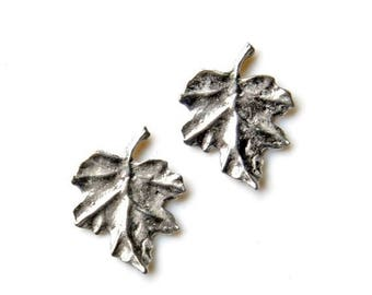 Limited Time Offer Leaf Cufflinks - Gifts for Men - Anniversary Gift - Handmade - Gift Box Included