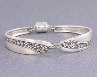 Silverware Jewelry - Spoon Bracelet - Starlight Rose Silverware Bracelet - Starlight Rose 1953