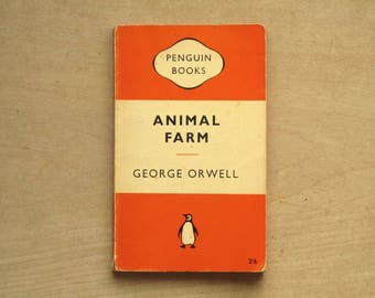 Classic Penguin book, Animal Farm by George Orwell