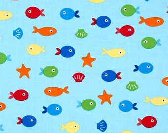 Sea and Sun cotton  fabric by Ann Kelle for Robert Kaufman fabrics